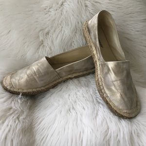 IOB Francesca's Collections Champagne Espadrilles